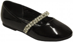 GIRLS BALLERINAS (2242445) BLACKPAT